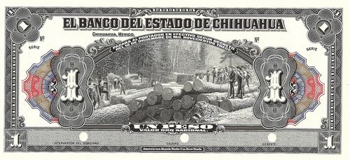 Banco del Estado 1 A proof