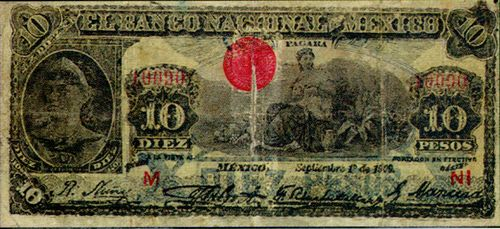 Nacional 10 counterfeit