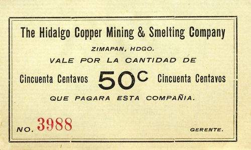 copper 50c white