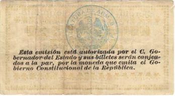 Ejercito 20 reverse