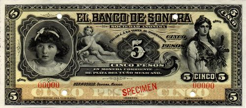 Banco de Sonora 5 00000 white back