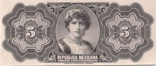 Republica Mexicana 5 00000000 reverse